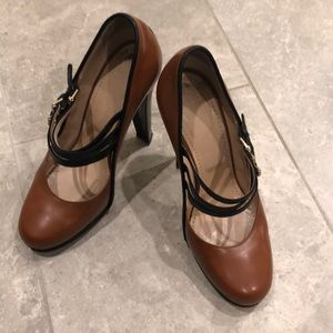 Bally women shoes leather size 7 1/2 us 38 EU